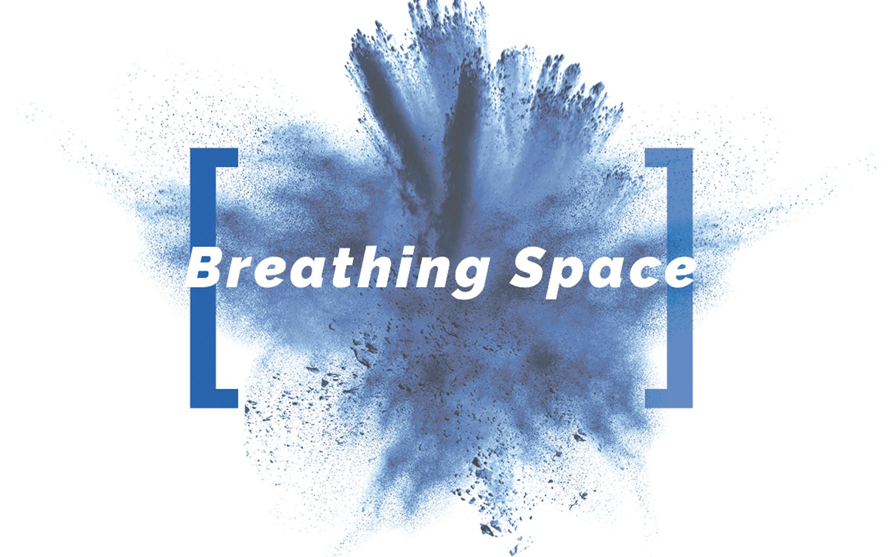 Breathing Space Program banner
